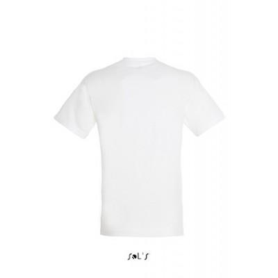 T-shirt Régent Blanc personnalisable sur la face en A3