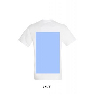 T-shirt personnalisable cœur et dos en A3