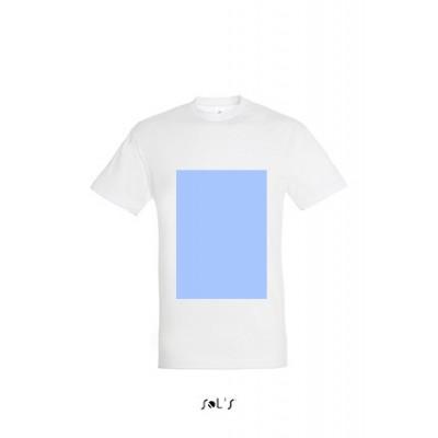 T-shirt personnal. face A4, dos A3, manche gauche