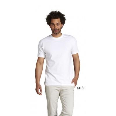 T-shirt Impérial Blanc unisexe