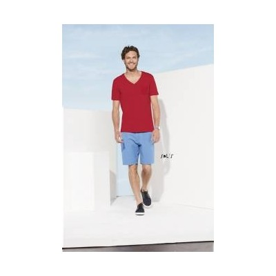 T-shirt Régent Rouge unisexe